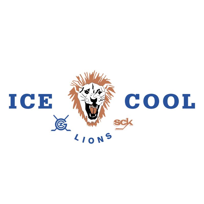 Icecool Lions vector logo