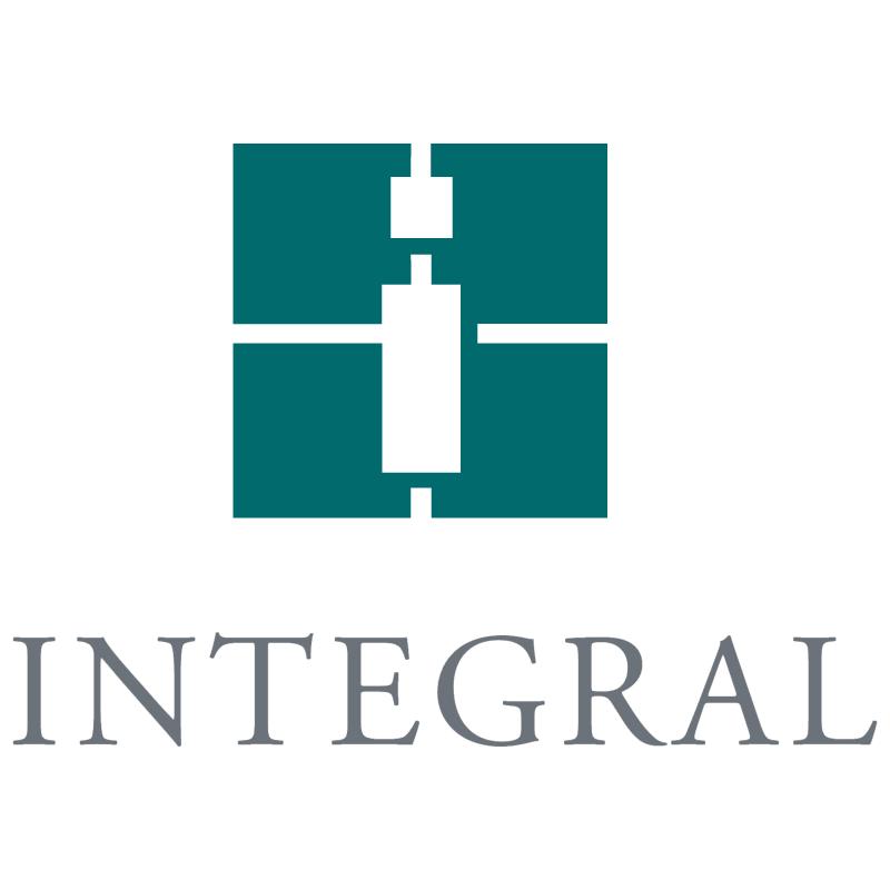 Integral vector logo
