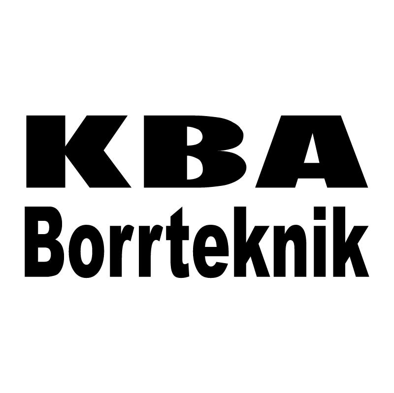 KBA Borrteknik vector