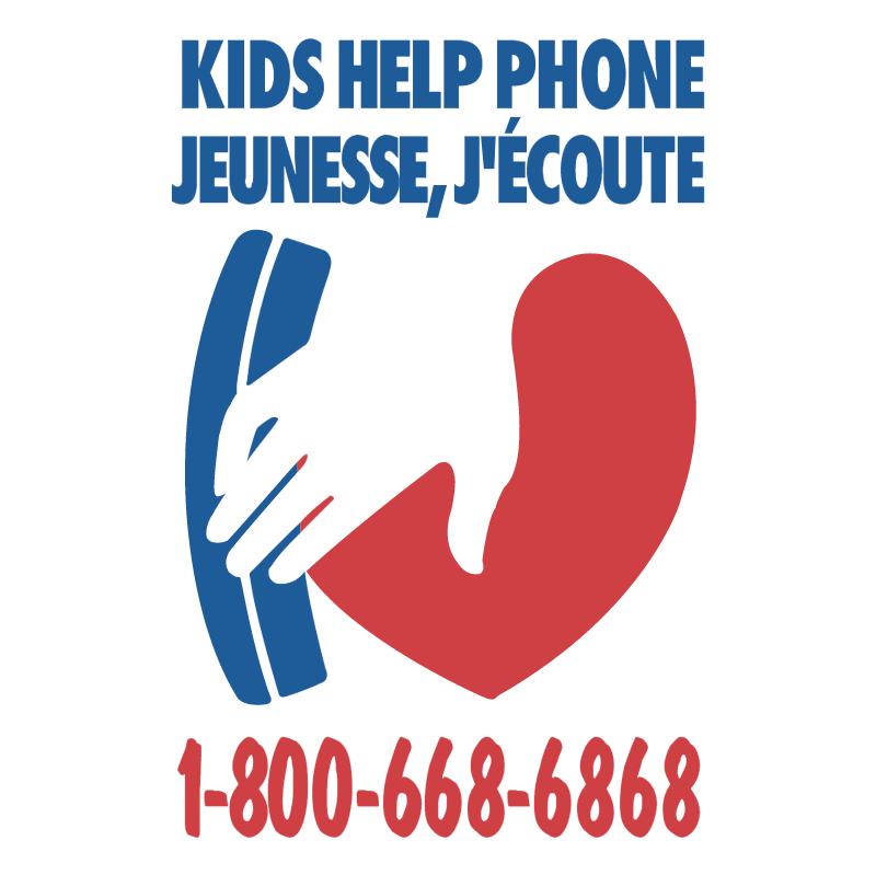 Kids Help Phone vector
