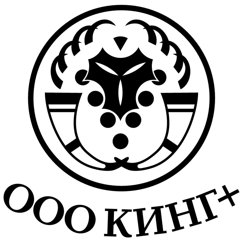 King Plus vector logo