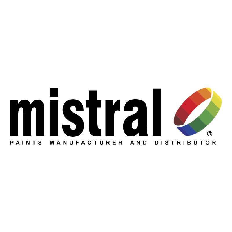 Mistral Paints vector