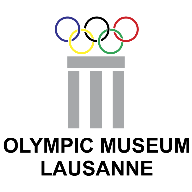 Olympic Museum Lausanne vector