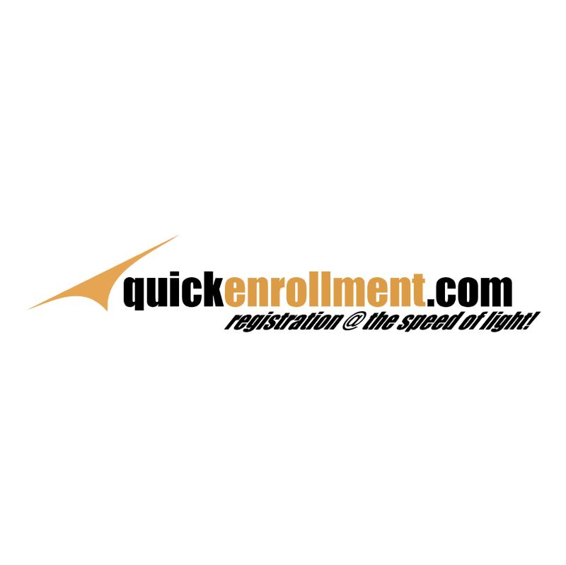 QuickEnrollment com vector logo