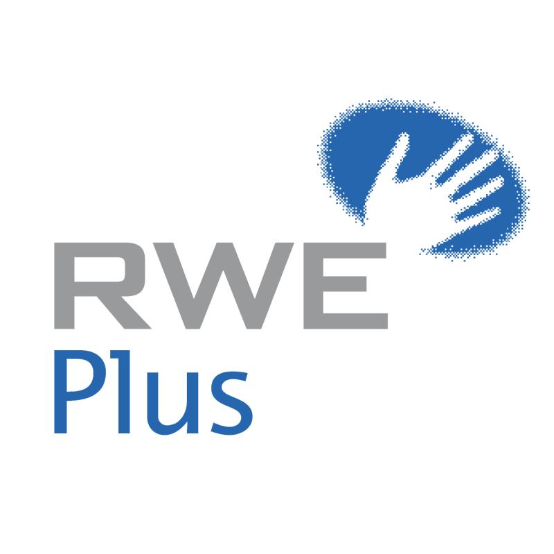 RWE Plus vector