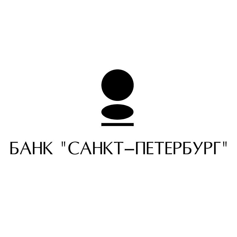 Sankt Petersburg Bank vector