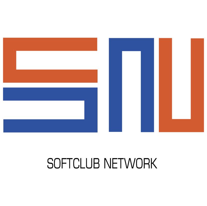 Softclub Network vector logo