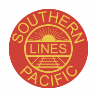 Southern Pacific Lines vector
