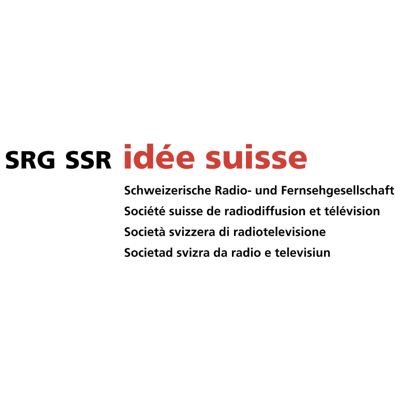SRG SSR Idee Suisse vector