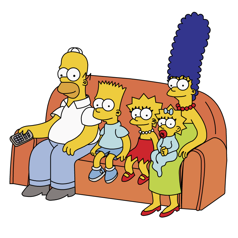 The Simpsons vector