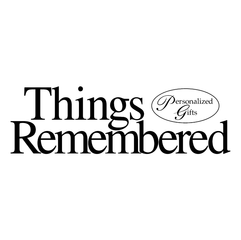 Things Remembered vector
