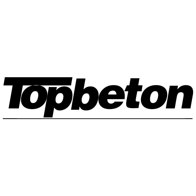 Topbeton vector