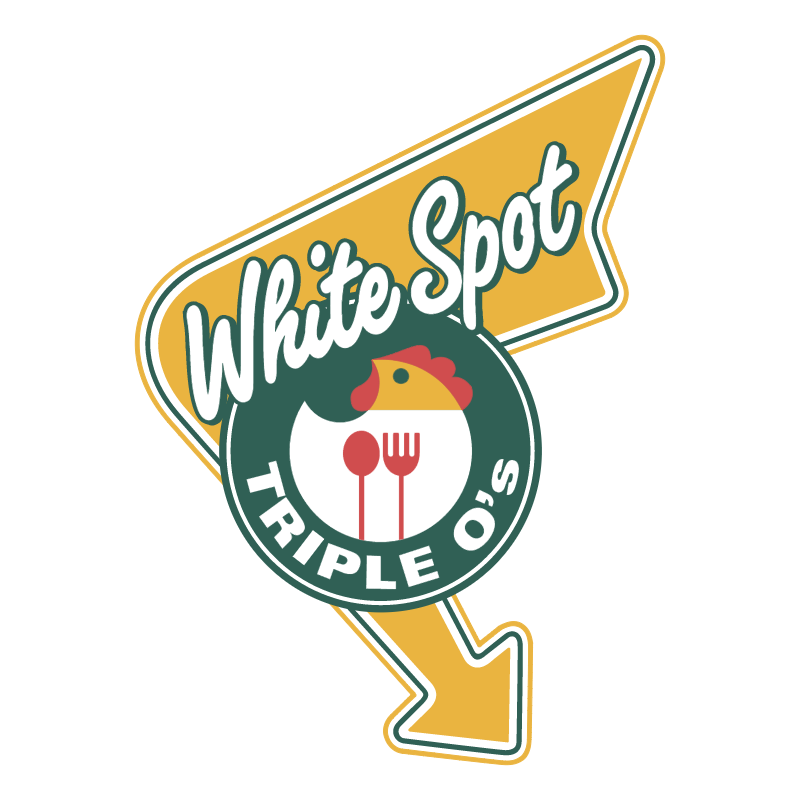 Triple O's White Spot vector logo