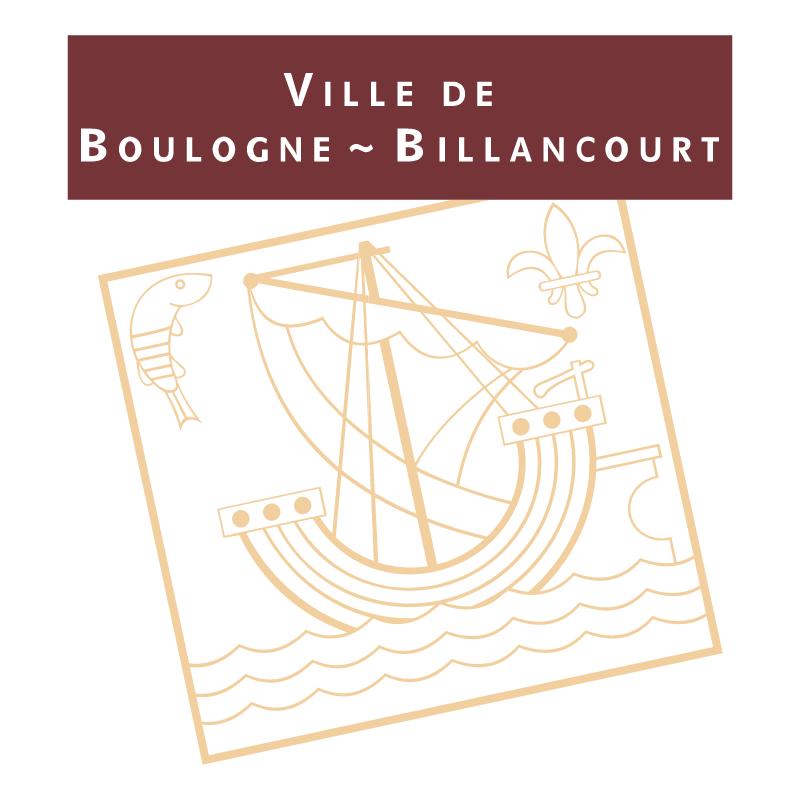Ville Boulogne Billancourt vector