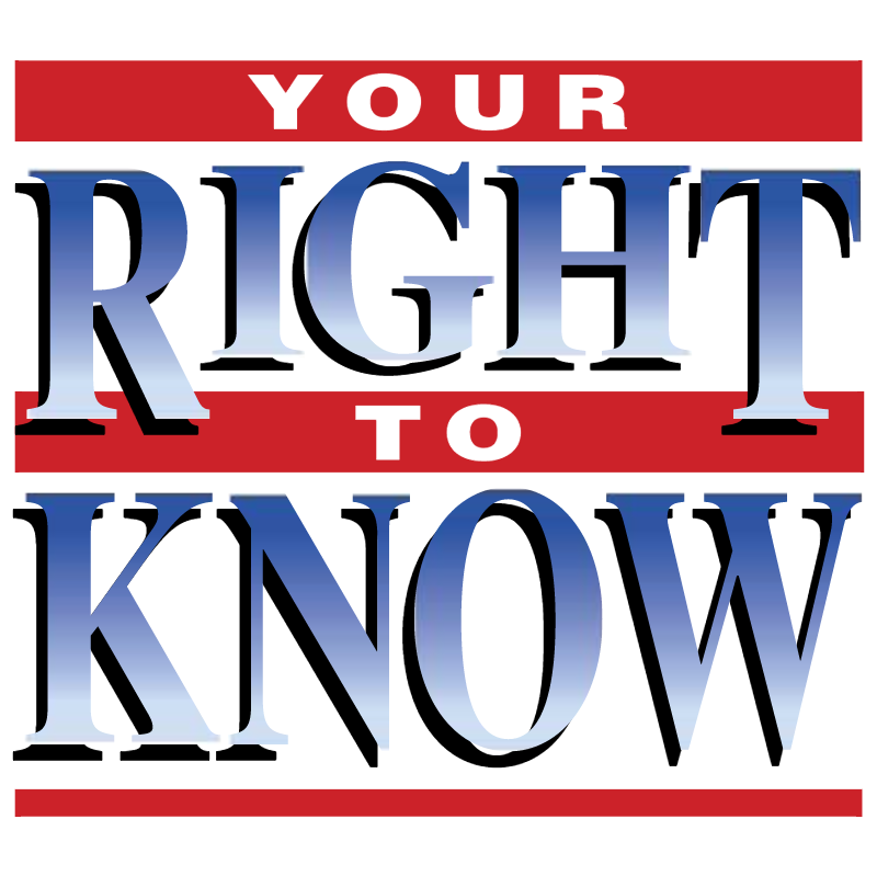 Your Right to Know vector logo