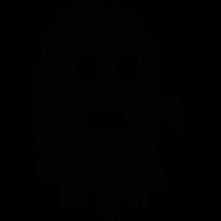 Worried Ghost vector