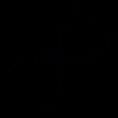DNA, IOS 7 interface symbol vector logo