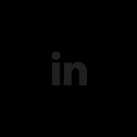 Follow me on LinkedIn social badge vector