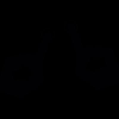 Push to minimize vector logo