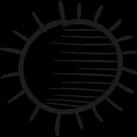 Warm Sun vector