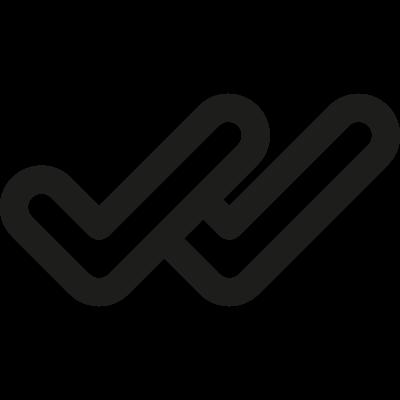 Double Checking vector logo