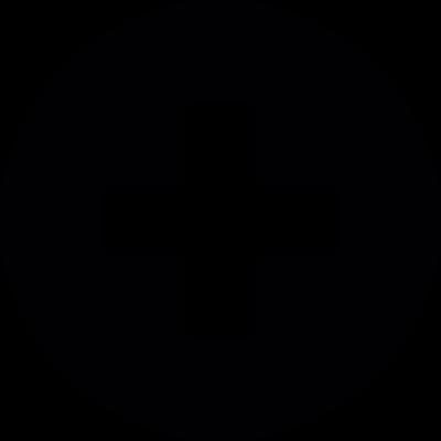 Plus circle vector logo