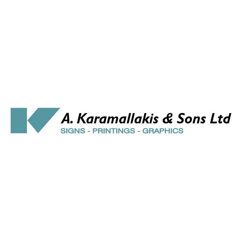A karamallakis & Sons vector