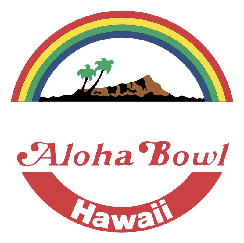 Aloha Bowl vector