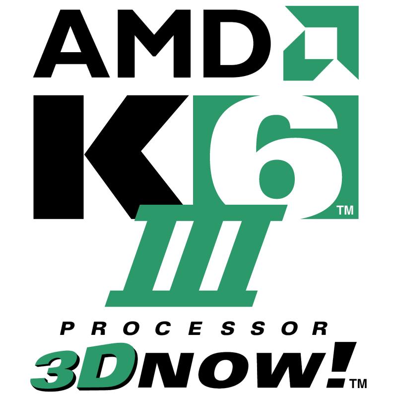 AMD K6 III Processor 8851 vector