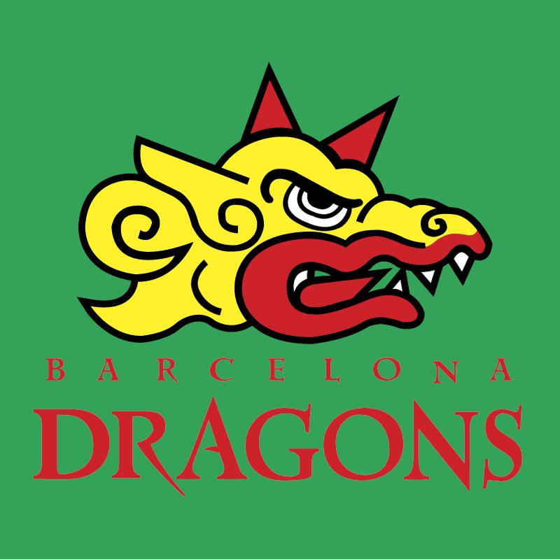 Barcelona Dragons vector