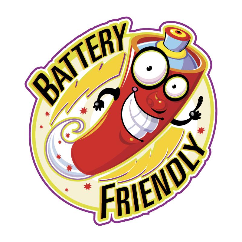 Battery Friendly 62672 vector