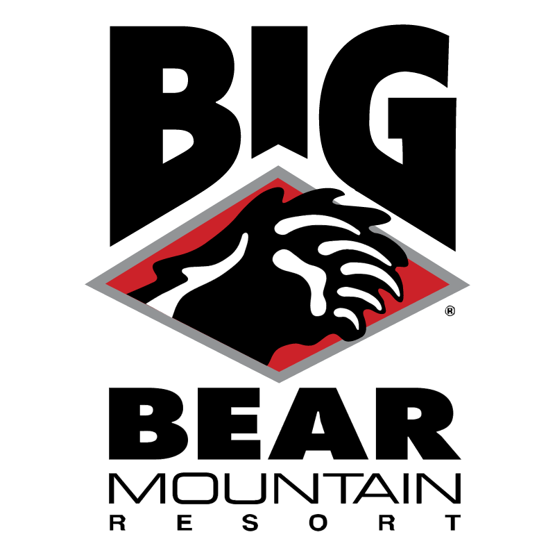 Big Bear Mountain vector