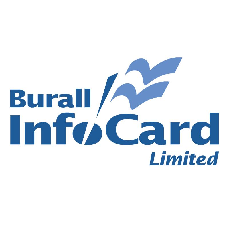 Burall InfoCard vector