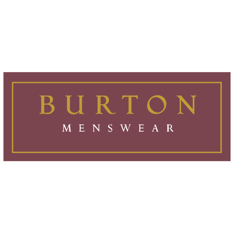 Burton Menswear 34981 vector logo
