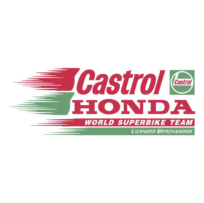 Castrol Honda vector