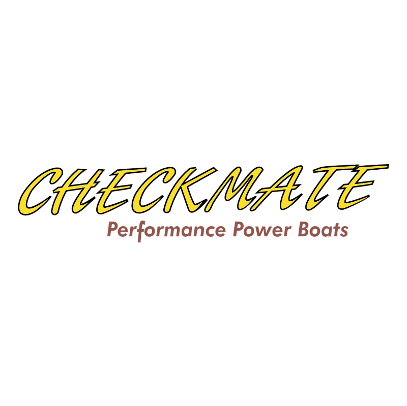 Checkmate Power Boats vector