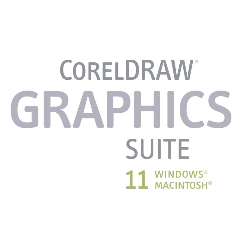CorelDRAW graphics suite 11 vector logo