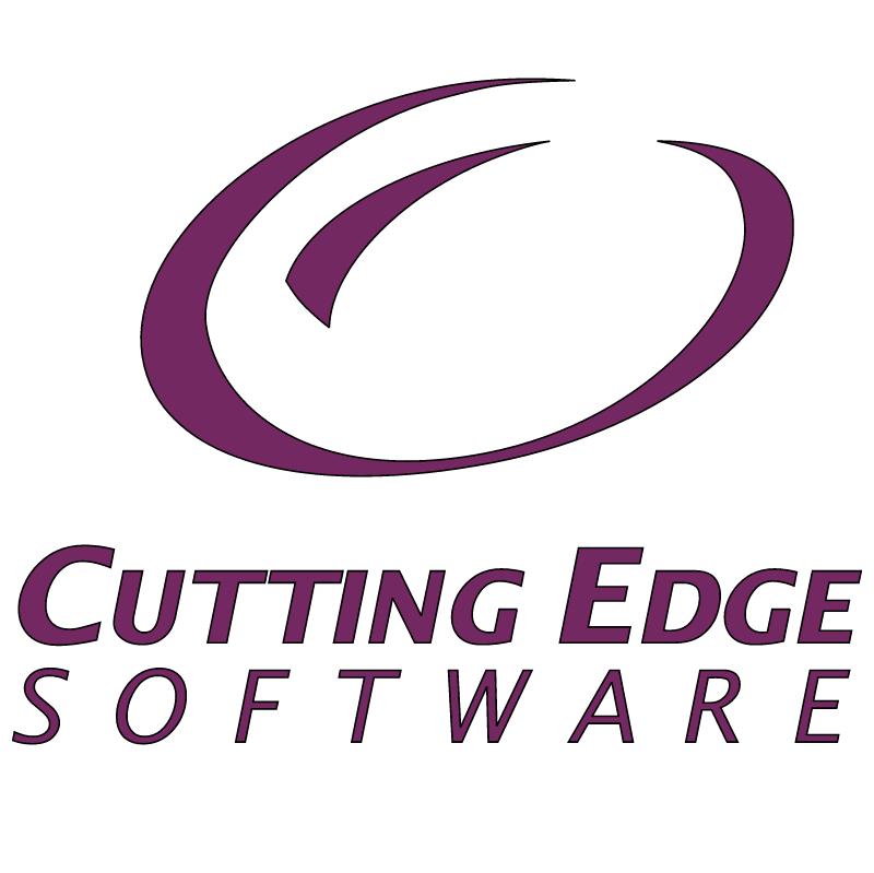 Cutting Edge Software vector