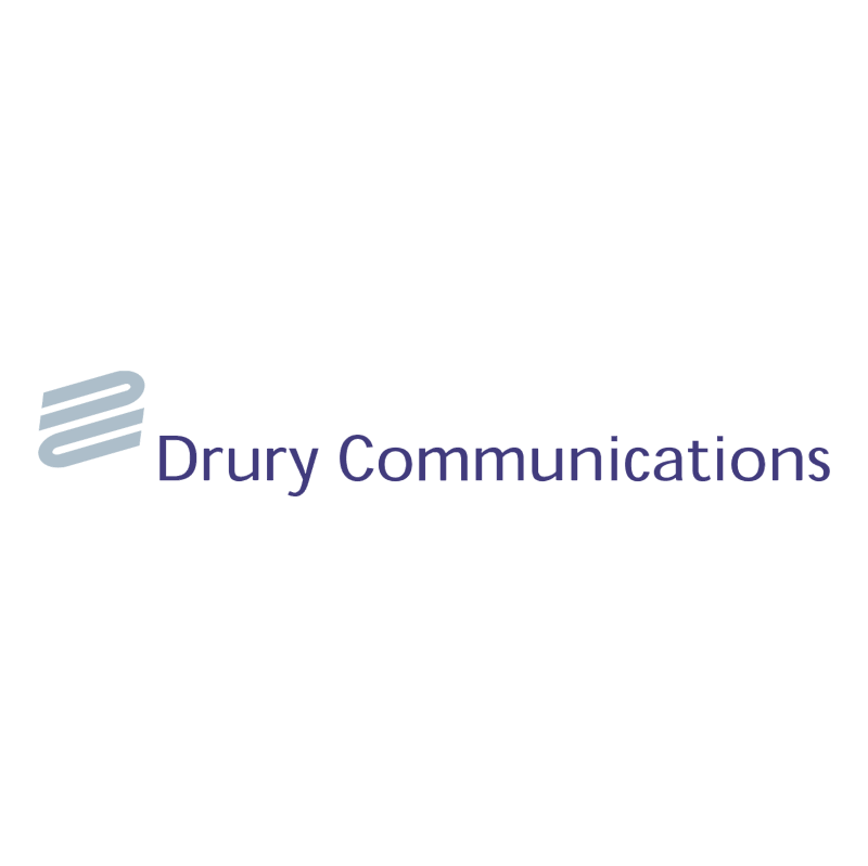Drury Communications vector logo