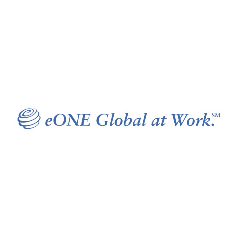 eONE Global at Work vector