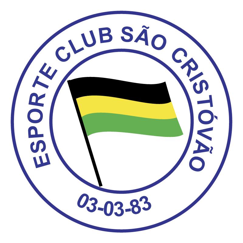 Esporte Clube Sao Cristovao de Sao Leopoldo RS vector