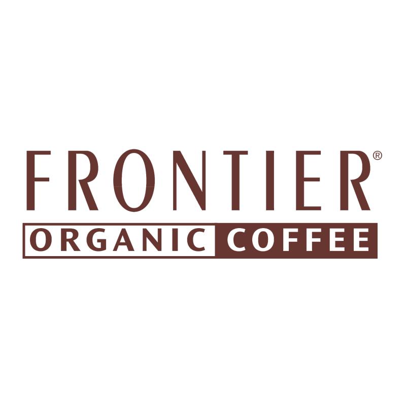 Frontier Organic Coffee vector logo