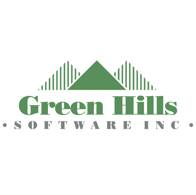 Green Hills Software vector logo