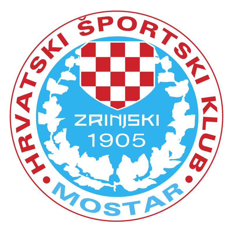 HSK Zrinjski Mostar vector