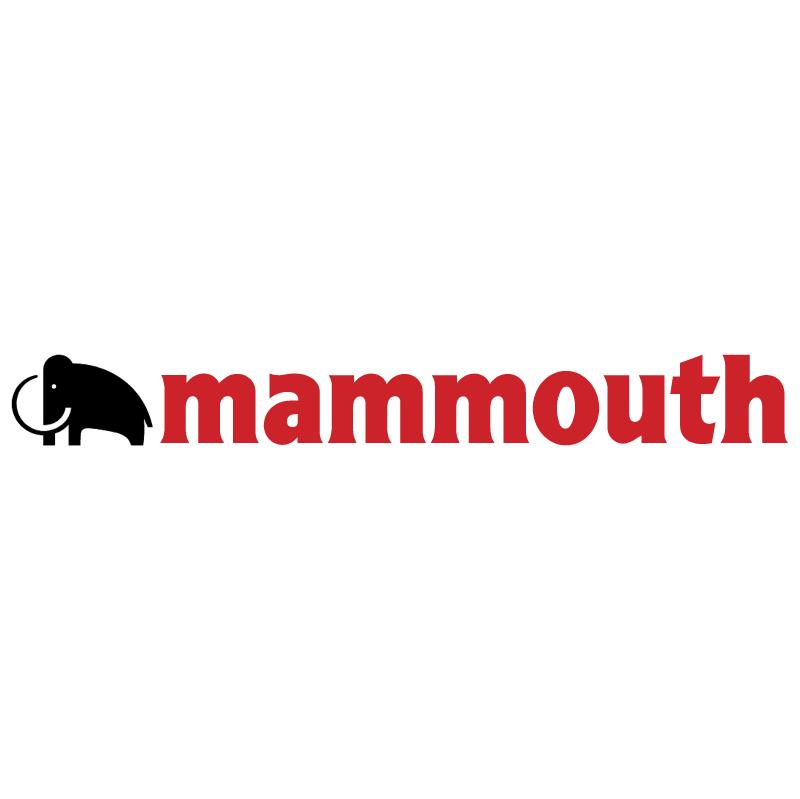 Mammouth vector logo