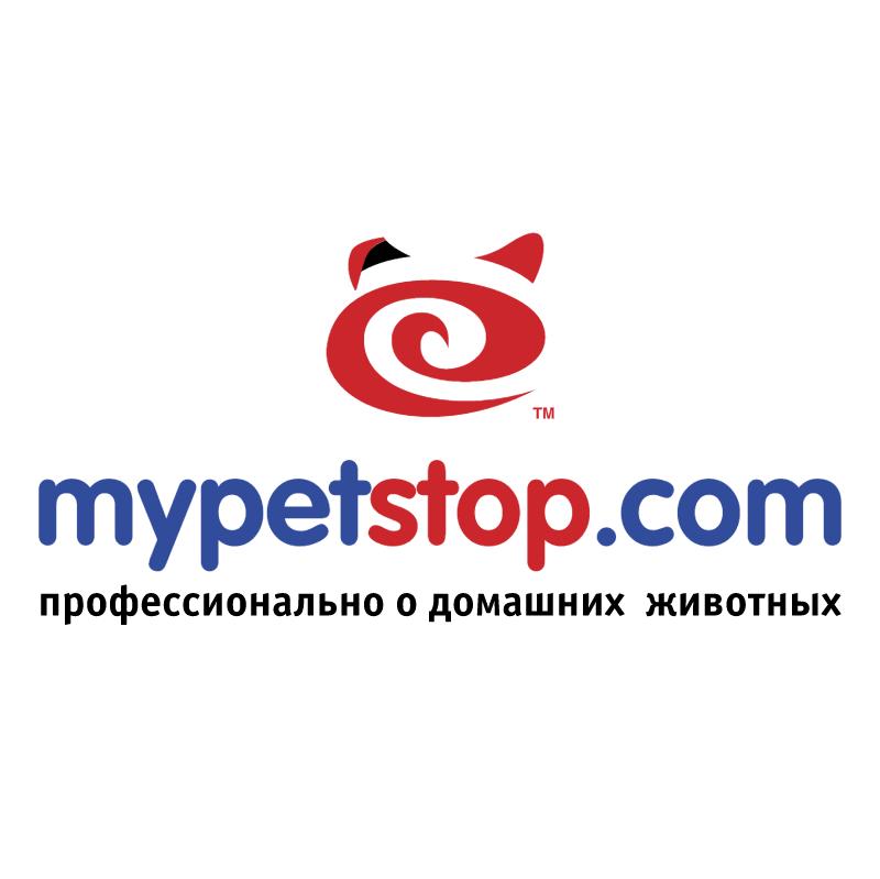 mypetstop com vector logo