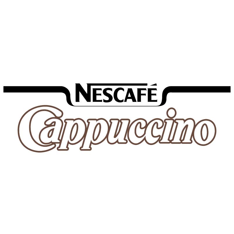Nescafe Cappuccino vector