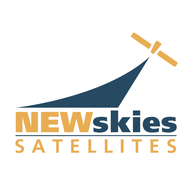 New Skies Satellites vector