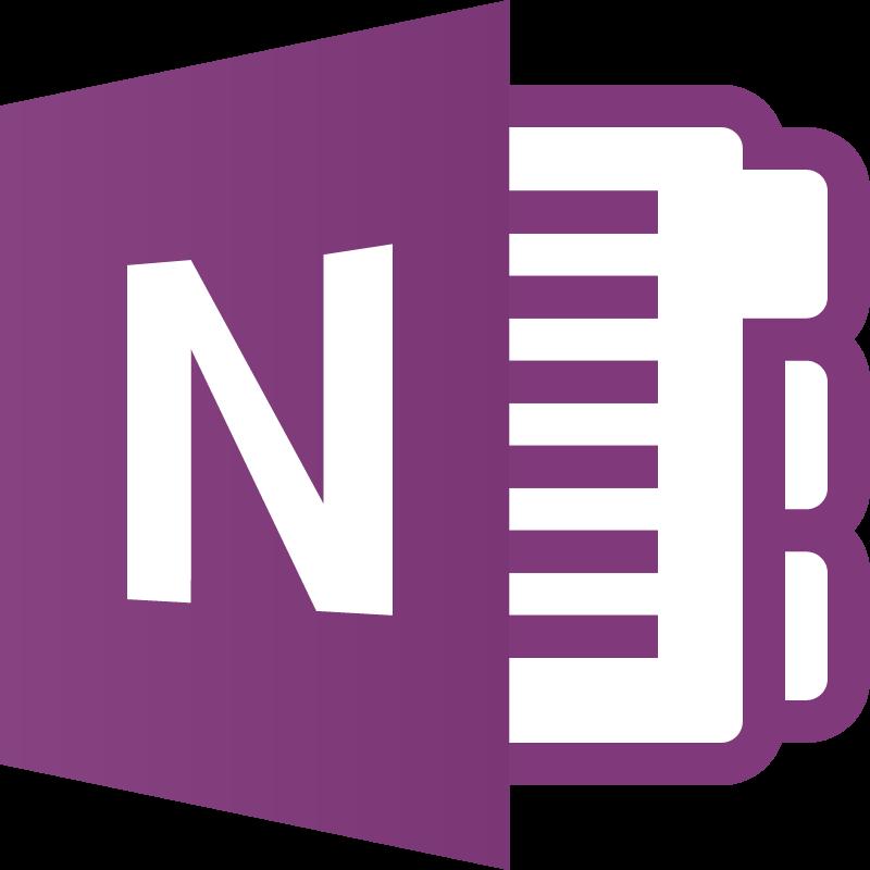 OneNote icon vector