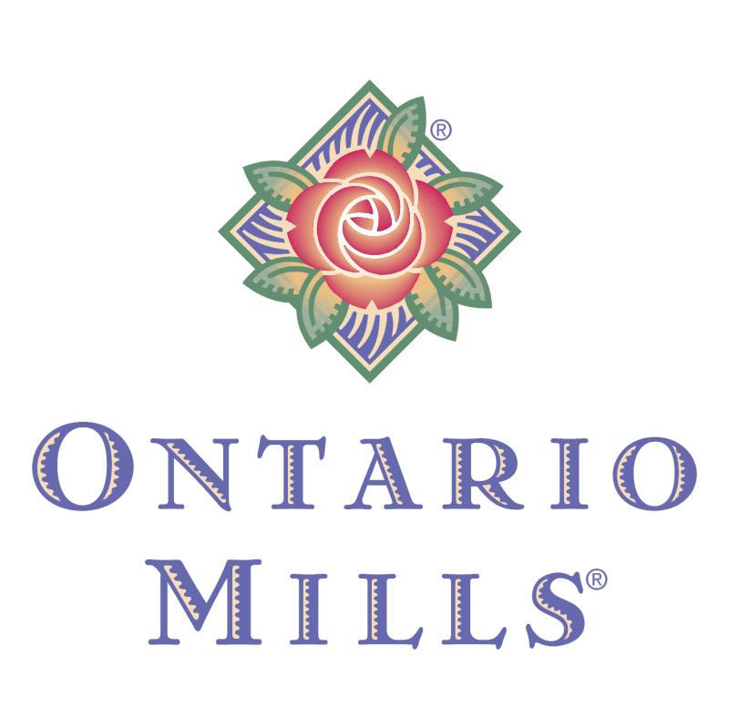 Ontario Mills vector